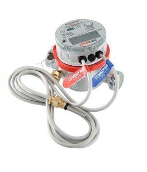 Теплосчетчик квартирный с тахометрическим расходомером, выходом M-BUS и блоком импульсных входов/выходов