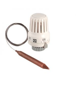 Термостатическая головка с выносным погружным датчиком