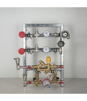 Квартирная станция для систем отопления и водоснабжения