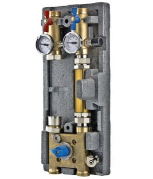 Насосный модуль с байпасом и трехходовым клапаном